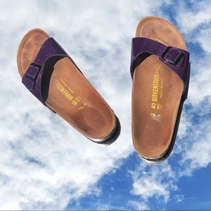 Purple Birkenstock sandals💜